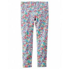Леггинсы для девочки- Neon Floral Print Leggings