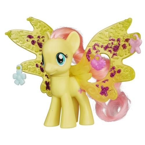 Фото - Фигурка Hasbro Пони Флаттершай с волшебными крыльями My Little Pony Cutie Mark Magic Friendship Charm Wings