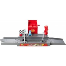 Pixar Cars Story Sets Piston Cup Pit Stop Play & Race Launcher
