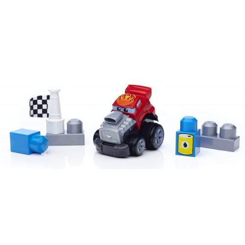 Фото - Конструктор Mega Bloks Трактор First Builders Zippy Zach Building Kit