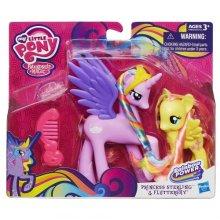 Фото - Фигурка Hasbro My Little Pony Princess Cutie Mark Magic Princess Sterling and Fluttershy