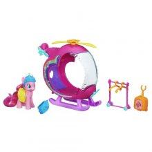 Пони Пинки Пай и ее вертолет Радуга My Little Pony Pinkie Pies Rainbow Helicopter Playset