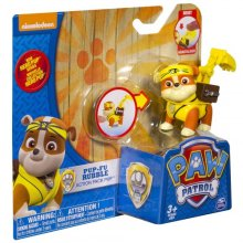 Фото - Фигурка Spin Master Paw Patrol Hero Series Pup-Fu Rubble