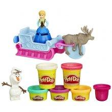 Набор для лепки  Холодное сердце Play-Doh Sled Adventure Featuring Disneys Frozen