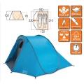 Фото - Палатка Палатка Vango Pop 200 DS River