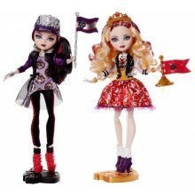 School Spirit 2 Pack Dolls - Apple White and Raven Queen
