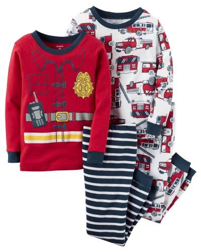 Фото - Carter's Пижама для мальчика, с принтом Пожарник