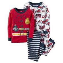 Пижама для мальчика, с принтом Пожарник