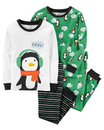 Фото - Carter's  Пижама для мальчика, с принтом Пингвин