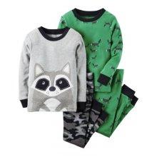 Пижама для мальчика, с принтом Енот