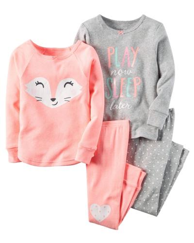 Фото - Carter's Пижама для девочки, спринтом Лиса