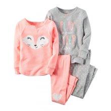 Пижама для девочки, спринтом Лиса