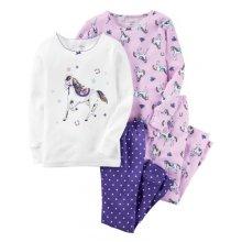 Пижама для девочки,  с принтом Лошадка