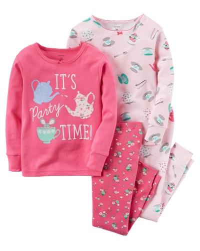 Фото - Carter's Пижама для девочки, с принтом Пижамная вечеринка