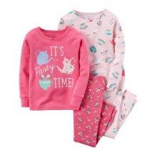 Пижама для девочки, с принтом Пижамная вечеринка