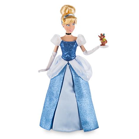 Фото - Кукла Disney Cinderella Classic Doll with Gus Figure
