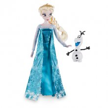 Elsa Classic Doll with Olaf Figure