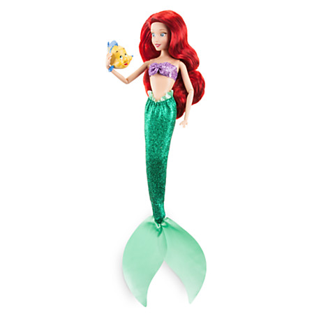 Фото - Кукла Disney Ariel Classic Doll with Flounder