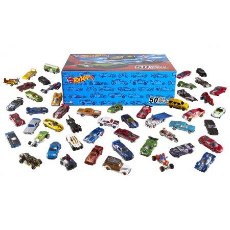 Фото - Машинка Hot Wheels 50 моделек, набор