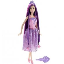 Endless Hair Kingdom Princess Doll, Purple