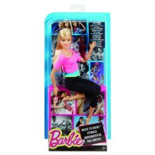 Фото - Кукла Barbie Made to Move Barbie Doll, Pink Top