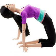 Made to Move Barbie Doll, Purple Top