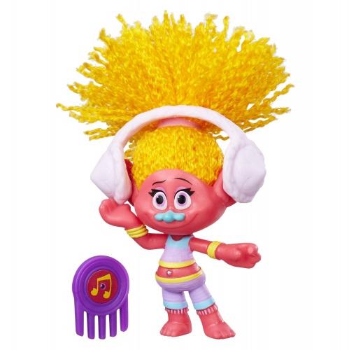 Фото - Фигурка Hasbro Герои Ди-Джей Звуки из мультфильма Тролли DreamWorks Trolls DJ Suki Collectible Figure