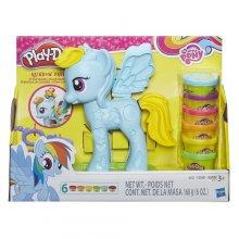 Фото - Игровой набор Hasbro Набор для лепки пони Play-Doh My Little Pony Rainbow Dash Style Salon Playset