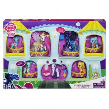 Фото - Фигурка Hasbro Набор из 7 фигурок пони My Little Pony Friendship is Magic Midnight in Canterlot Pony Collection Doll Set