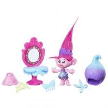 Герои Поппи и аксессуары из мультфильма Тролли DreamWorks Trolls Poppy Style Set