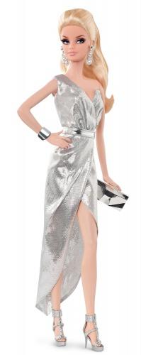 Фото - Кукла Barbie Коллекционная Барби The Look: Silver Dress Doll