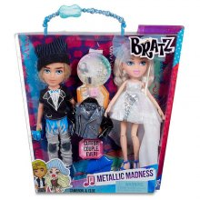 Фото - Кукла Bratz  Cameron, Cloe Metallic Madness, набор