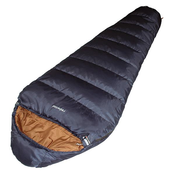 Фото - спальный мешок Спальный мешок High Peak Redwood / -1°C (Left) blue/brown