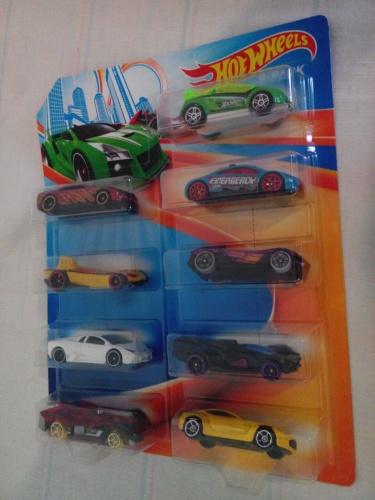 Фото - Машинка Hot Wheels 9 моделек Styles May Vary, набор