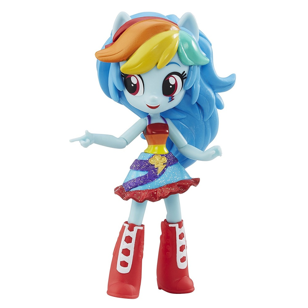 Фото - Кукла Hasbro Мини-кукла My Little Pony Minis School Dance Rainbow Dash
