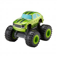 Джип Nickelodeon Blaze (огурчик металлик) And The Monster Machines Metallic Racer Pickle