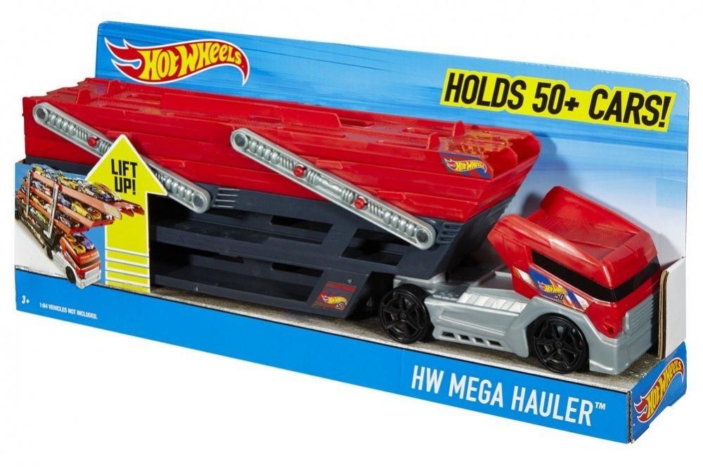 Фото - Машинка Hot Wheels Грузовик-транспортер автовоз Mega Hauler