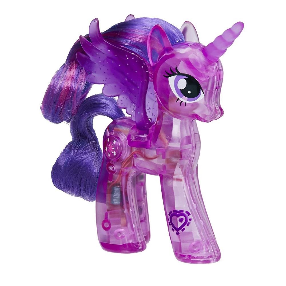 Фото - Фигурка Hasbro Светящаяся принцесса Твайлайт Спаркл My Little Pony Explore Sparkle Bright Princess Twilight Sparkle