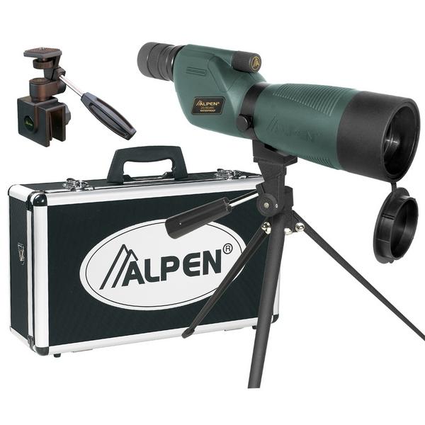 Фото - Подзорная труба Alpen 20-60x60 N KIT Waterproof