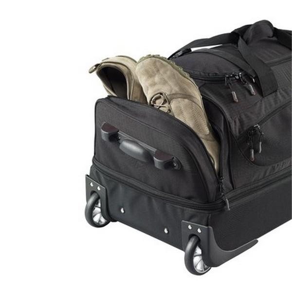 53c837e06d85 Сумка дорожная на колесах Caribee Scarecrow DX 75L (70cm) Black ...