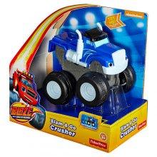 Крушила с инерционным механизмом Blaze (s&g) and the monster machines slam and go Crusher - blue