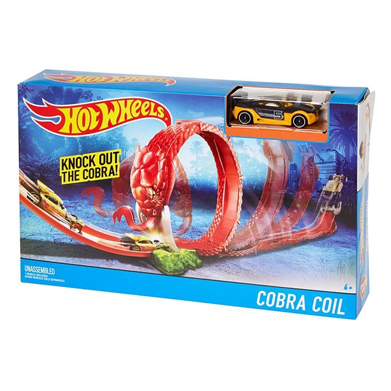 Фото - Автомобильный трек Hot Wheels Кобра Cobra Coil Track Set