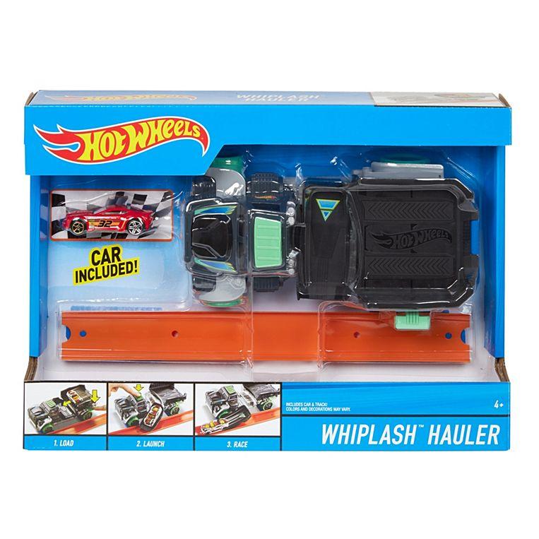 Фото - Автомобильный трек Hot Wheels WHIPLASH Hauler Vehicle