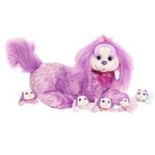 Puppy Surprise Plush Chloe Plush, Purple