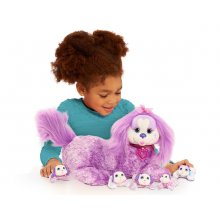Фото - Мягкая игрушка Just Play Puppy Surprise Plush Chloe Plush, Purple