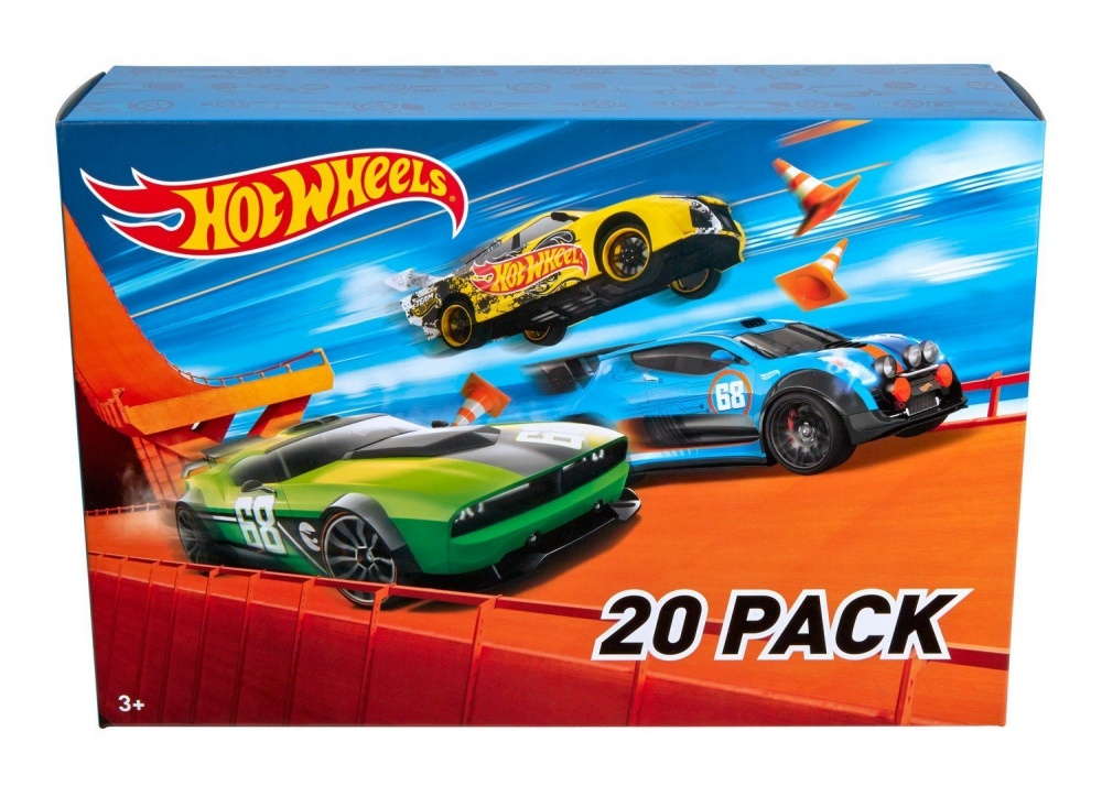 Фото - Машинка Hot Wheels 20 моделек Car Gift Pack