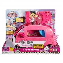 Фото - Кукла Mattel  героиня G и туристический автобус из мультсериала Куу Куу Хараджуку - Kuu Kuu Harajuku Tour Bus