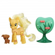 My Little Pony (шарнирная) Эплджек и Вайнону в саду Applejack Applebucking Poseable Pony