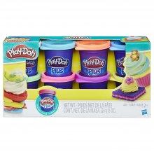 Фото - Игровой набор Hasbro для лепки Play-Doh Plus Color Set (8 Pack)