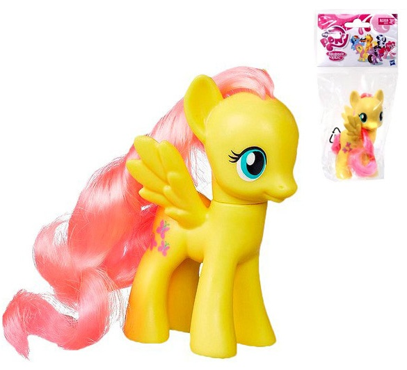 Фото - Фигурка Hasbro Пони Флаттершай My Little Pony Friendship is Magic 3 Inch Single Figure Fluttershy